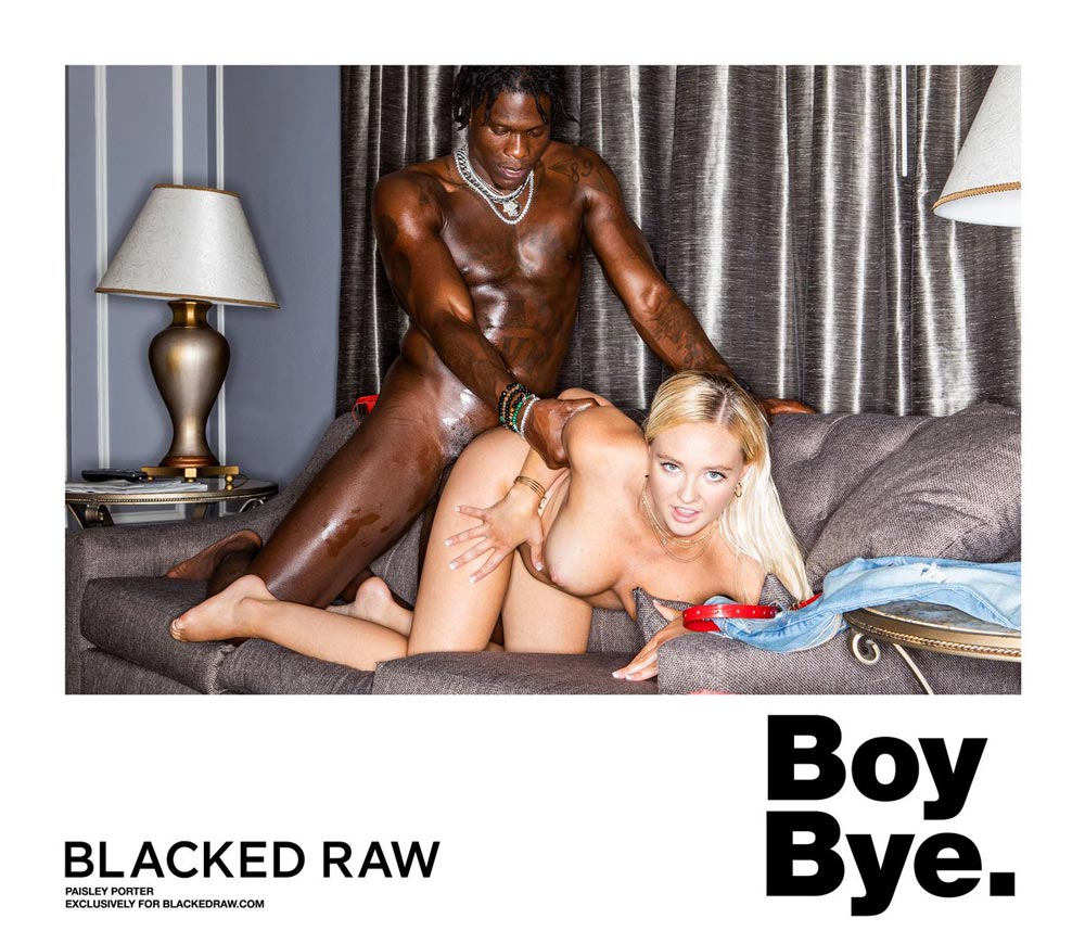 Paisley Porter Makes Blacked Raw Debut